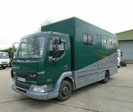 2005 (55) DAF LF45.130 HORSE BOX WITH DAY LIVING