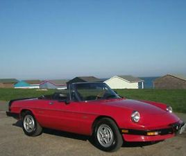 ALFA ROMEO SPIDER GRADUATE. LHD. LOVELY CONDITION.