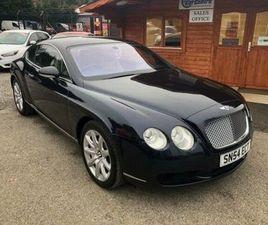 2004 BENTLEY CONTINENTAL 6.0 GT AUTO - £19,995