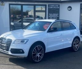 USED 2017 AUDI Q5 S LINE + TDI QUATTRO A NOT SPECIFIED 90,000 MILES IN GREY FOR SALE | CAR