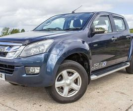 NO 10% DUTY * 2015 ISUZU D MAX YUKON VISION 2.5D FOR SALE IN ANTRIM FOR £15,250 ON DONEDEA