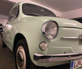 FIAT ZASTAVA 750 + KOMPLETT RESTAURIERT + WIE NEU !!