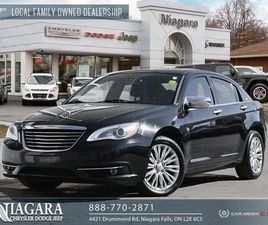 USED 2013 CHRYSLER 200 LIMITED | SUN AND SOUND PACKAGE