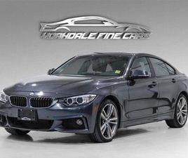 USED 2017 BMW 4 SERIES 440I XDRIVE GRAN COUPE MSPORT - NAVI, CAMERA, ROOF, CLEAN