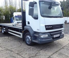 2012 DAF LF 55-220 BEAVER-TAIL TRUCK FOR SALE IN ANTRIM FOR £15,750 ON DONEDEAL