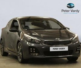 KIA PRO CEED INTERIOR STYLING PACK - BLACK CLOTH WITH CONTRAST GREY INSERTS