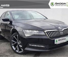 SKODA SUPERB 1.6 TDI AUTOMATIC 19 VEGA SPORTLIN FOR SALE IN CLARE FOR €34500 ON DONEDEAL