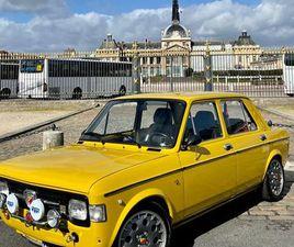 FIAT 128 SPECIAL – MOTEUR 1300 TURBO