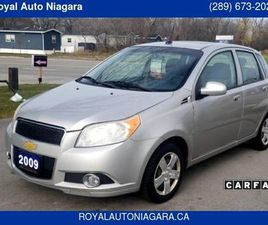 2009 CHEVROLET AVEO 5DR WGN LT WITH