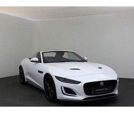 2021 JAGUAR F-TYPE 2.0 I4 FIRST EDITION CONVERTIBLE - £53,995