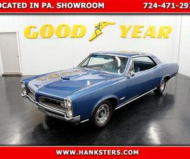 FOR SALE: 1966 PONTIAC GTO IN HOMER CITY, PENNSYLVANIA
