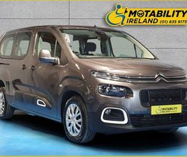 CITROEN BERLINGO MULTISPACE WHEELCHAIR ACCESSIBLE FOR SALE IN MEATH FOR €41,995 ON DONEDEA