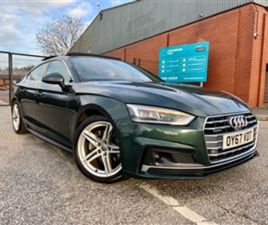 USED 2017 AUDI A5 SPORTBACK TDI QUATTRO S LINE++++SOLD++++++ HATCHBACK IN GREEN FOR SALE |