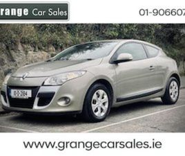 RENAULT MEGANE 1.5 DCI 85 2DR FOR SALE IN DUBLIN FOR €4945 ON DONEDEAL