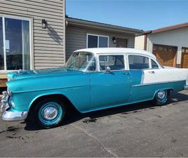 FOR SALE: 1955 CHEVROLET BEL AIR IN CADILLAC, MICHIGAN