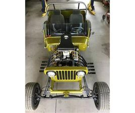 FOR SALE: 1946 WILLYS JEEP IN CADILLAC, MICHIGAN