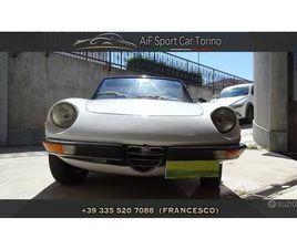 ALFA ROMEO DUETTO SPIDER 1600CC 109CV ANNO 1974