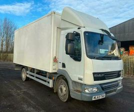DAF TRUCKS LF 45-180 MEAT RAILER REFRIGERATED BOX WITH STANDBY