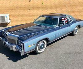 1977 CADILLAC ELDORADO GM COUPE // 7.5L 425CU V8 // 180BHP // PX SWAP
