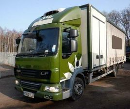 2012 DAF LF45.180 REFRIGERATED & CURTAIN SIDE VEHICLE