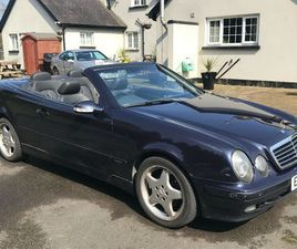MERCEDES CLK 230 CONVERTIBLE - MOT FEB 22
