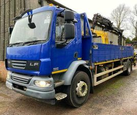 2012 DAF LF55.220 18T D/S WITH ATLAS TEREX 92.2 CRANE
