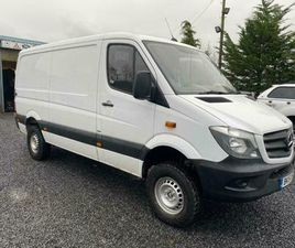 I MERCEDES BRNZ SPRINTER 4X4 LOW ROOF VAN 4X4 ONLY ONE COMPANY OWNER FROM NEW