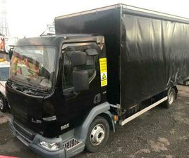 2013 63 DAF LF 46.160 7.5 TON 18 FT CURTAIN SIDE TRUCK AUTO GEARBOX