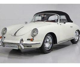 1960 PORSCHE 356B SUPER 90 T6 CABRIOLET RHD