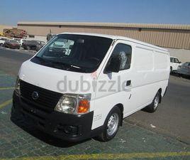 NISSAN URVAN CARGO VAN 2010 - 2.5L,GCC LOW EMI MONTHLY AED 294/- (FOR SIXTY MONTHS) | DUBI