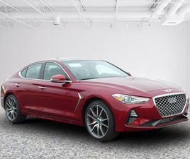 BRAND NEW RED COLOR 2021 GENESIS G70 FOR SALE IN SPRINGFIELD, VA 22150. VIN IS KMTG74LE0MU