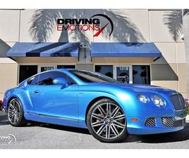 2014 BENTLEY CONTINENTAL GT SPEED COUPE $248K MSRP!! KINGFISHER BLUE!!