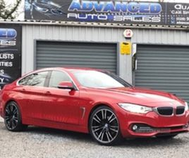 USED 2016 BMW 4 SERIES GRAN COUPE LUXURY AU COUPE 72,000 MILES IN RED FOR SALE | CARSITE