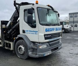 DAF LF 55 WITH 12 TON HIAB FOR SALE IN KILDARE FOR €11,950 ON DONEDEAL