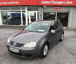 VOLKSWAGEN GOLF 1.9 TDI MATCH 103BHP 5DR FOR SALE IN ROSCOMMON FOR €3,695 ON DONEDEAL