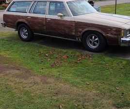 1982 OLDSMOBILE CUSTOM CRUISER