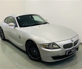 USED 2007 BMW Z4 3.0 Z4 SI SPORT COUPE 2D 262 BHP COUPE 113,000 MILES IN SILVER FOR SALE  