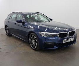 USED 2018 (68) BMW 5 SERIES 530I M SPORT 5DR AUTO IN GLASGOW