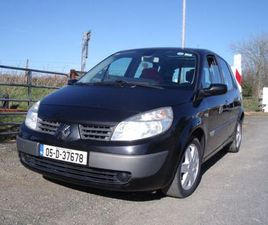 RENAULT MEGANE SCENIC NEW NCT TILL 08-2022 FOR SALE IN WEXFORD FOR €1,500 ON DONEDEAL
