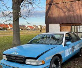 CHEVROLET CAPRICE 1991 POLICE GGF TAUSCH!!!! H ZULASSUNG MÖGLICH