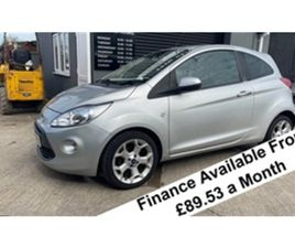 USED 2012 FORD KA TITANIUM 1.2 NOT SPECIFIED 89,115 MILES IN SILVER FOR SALE | CARSITE