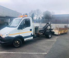 2013 IVECO DAILY, 5TON HOOKLOADER AND BODY FOR SALE IN DOWN FOR £1 ON DONEDEAL
