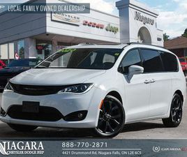 USED 2020 CHRYSLER PACIFICA LIMITED | HEATED AND COOLED SEATS!