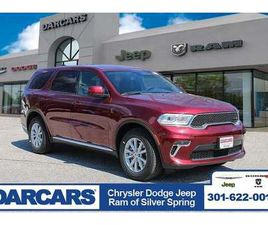 BRAND NEW RED COLOR 2021 DODGE DURANGO SXT FOR SALE IN SILVER SPRING, MD 20904. VIN IS 1C4