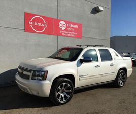 USED 2013 CHEVROLET AVALANCHE LTZ / BLACK DIAMOND PACKAGE / LEATHER / LOADED / RARE