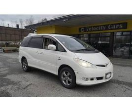 2003 TOYOTA ESTIMA HYBRID G-SELECTION 4WD 8-SEATER AT 67K