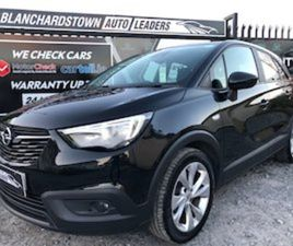 2018 OPEL CROSSLAND X SE 1.2 (83PS) SE FOR SALE IN DUBLIN FOR €13750 ON DONEDEAL