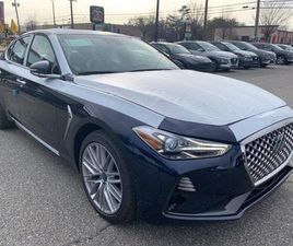 BRAND NEW BLUE COLOR 2021 GENESIS G70 FOR SALE IN ANNAPOLIS, MD 21401. VIN IS KMTG34LA0MU0