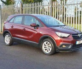 OPEL CROSSLAND X 1.6 DSL FOR SALE IN WESTMEATH FOR €15950 ON DONEDEAL