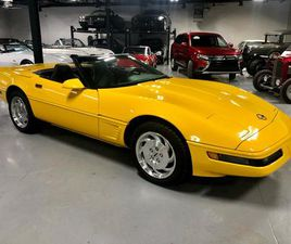 USED 1995 CHEVROLET CORVETTE WITH ONLY 33500 KM PRISTINE CONDITION